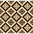 seamless kazakh patterns vector image