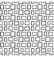 seamless decorative pattern with hand drawn vector image