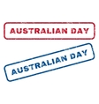 Australian Day Rubber Stamps vector image vector image