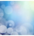 Blurry background with bokeh effect Abstract vector image vector image
