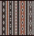 handcraft winter wool texture weaving pattern vector image