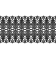 Lacy vintage trims vector image vector image