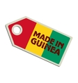 Made in Guinea vector image vector image