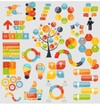 Mega Collection of Flat Infographic Templates for vector image