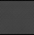 mesh pixel ornament black seamless pattern vector image vector image