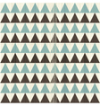 Triangular rows vector image vector image