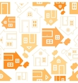 Home sweet home house silhouette vector image