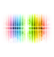 vertical lines abstract rainbow vector image