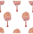 Abstract tree pattern vector image vector image