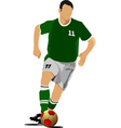 al 0529 soccer 01 vector image vector image