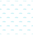 Cloud pattern cartoon style vector image