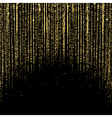 Curtain of Golden Particles vector image vector image