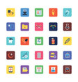 Medical Colored Icons 3 vector image vector image