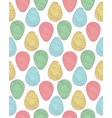 pattern eggs3 vector image vector image