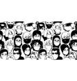 people wearing medical masks coronavirus vector image