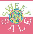 sweet sale2 vector image vector image
