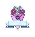 world teachers day greeting emblem vector image