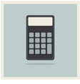 Classic Finance Accounting Calculator vector image vector image