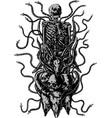 cruel bondage vector image vector image