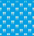 flippers pattern seamless blue vector image vector image