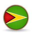 Guyana Seal vector image vector image