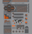 Modern set elements of infographics vector image vector image