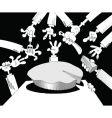 piece of pie vector image vector image