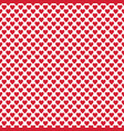 repeating heart background pattern - valentines vector image vector image
