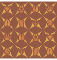 Seamless background with traces of animals vector image vector image