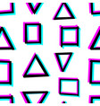 seamless decorative pattern with hand drawn vector image vector image