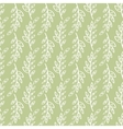 sprig Seamless pattern green background vector image vector image