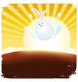 year rabbit vector image vector image