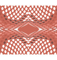 Abstract background circles red vector image vector image