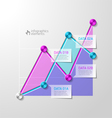 Abstract diagram infographics template