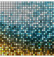 Abstract metallic disco background vector image vector image