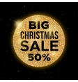 Big Christmas Sale promotion banner vector image vector image