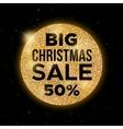 big christmas sale promotion banner vector image