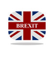brexit icon vector image