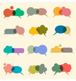 Bubbles for speech vector image vector image