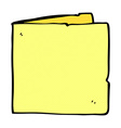 comic cartoon blank card vector image vector image