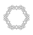 Decorative ornate Frame Border vector image vector image