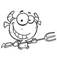Devil cartoon vector image vector image