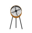 floor fan realistic vector image