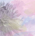 flower background on soft pastel color in blur vector image vector image