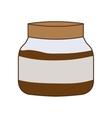 jam breakfast food menu icon vector image vector image