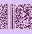 repeating violet pattern vector image vector image