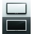 TV screen hanging vector image
