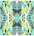 Hand drawn pattern with artistic pattern Seamless vector image