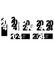 2024 vector image vector image
