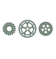 bike gears vector image